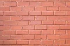 Orange brick wall. Royalty Free Stock Photos