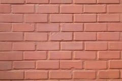Orange brick wall. Stock Image