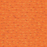 Orange Brick wall pattern background Royalty Free Stock Photo