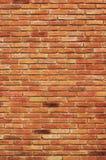 Orange brick wall texture Stock Photos