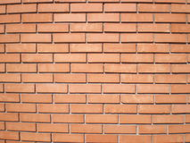 Orange brick Wall. View on the orange brick Wall royalty free stock image