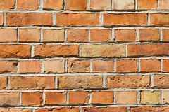 Orange Bricks Royalty Free Stock Photo
