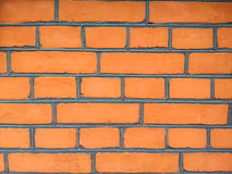 The orange bricks Stock Images