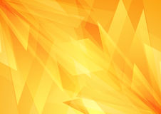 Orange bright abstract tech geometric shapes design. Concept abstract vector design Royalty Free Stock Photography