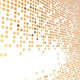 Orange bright tiles empty background Stock Images