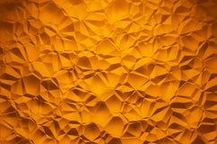 Orange brilliant triangle pattern Background 2 Stock Image