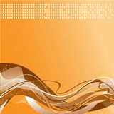 Orange-brown background Royalty Free Stock Photo