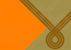 Orange and brown background Royalty Free Stock Images