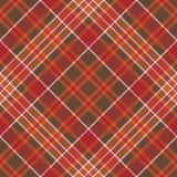 Orange brown diagonal check pixel square seamless pattern Royalty Free Stock Photography