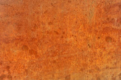 Orange brown old rusted corroded metal or steel Royalty Free Stock Images