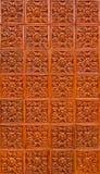 Orange brown thai pattern tile Royalty Free Stock Images