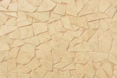 Orange broken tiles for Mediterranean design of a wall royalty free stock photos