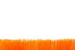 orange brush  border Royalty Free Stock Image