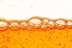 Orange bubbles Royalty Free Stock Photos