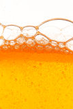 Orange bubbles Stock Photos