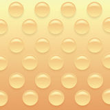 Orange Bubblewrap Background. Royalty Free Stock Images