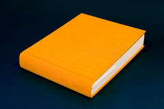 Orange Buch Stockfotografie