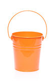 Orange bucket Royalty Free Stock Images