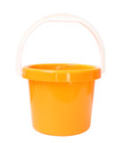 Orange bucket Stock Image