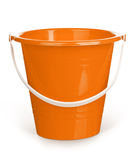 Orange bucket Stock Photography