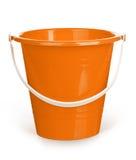 Orange bucket Stock Photography