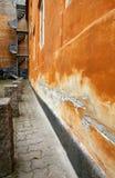 Orange building Stock Photography