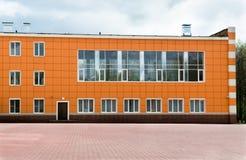Orange building Stock Images