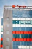 Orange building Royalty Free Stock Images