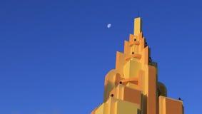 Orange building in cocoa Beach, Florida Royalty Free Stock Photo