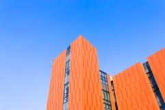 Orange  building  wall Royalty Free Stock Image