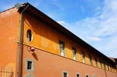 Orange building Stock Photo