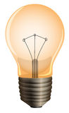 An orange bulb Stock Photography