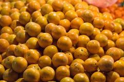 Orange bunte Beschaffenheitstapeten und -hintergrund Lizenzfreie Stockfotografie