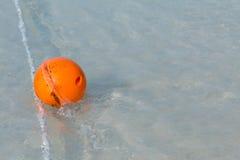 Orange buoy Stock Photography