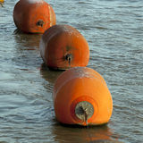 Orange Buoy Royalty Free Stock Images