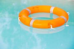 Orange buoy Royalty Free Stock Image