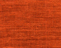 Orange burlap sample Royalty Free Stock Images