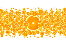 Orange Burst Royalty Free Stock Images