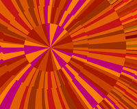 Orange Burst Royalty Free Stock Photo
