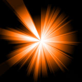 Orange Burst Stock Photo