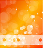 Orange business background Stock Photo