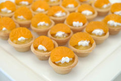 Orange Butter Tart Royalty Free Stock Images