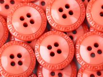 Orange buttons Royalty Free Stock Images