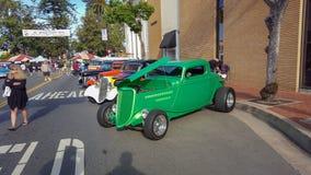 Orange, CA Car show stock image