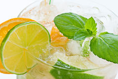Orange Caipirinha Royalty Free Stock Image