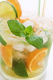 Orange Caipirinha Stock Photography