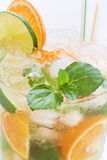 Orange Caipirinha Royalty Free Stock Images