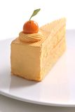 Orange cake Royalty Free Stock Photography