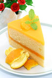 Orange cake Royalty Free Stock Photos