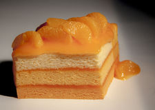 Orange cake Royaltyfria Bilder